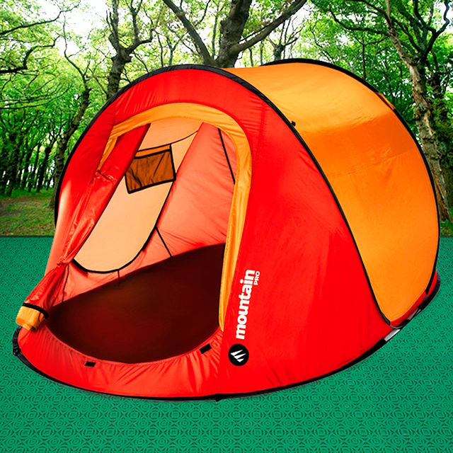 Get to level the floor to install your tent with the camping tiles of Loseplast