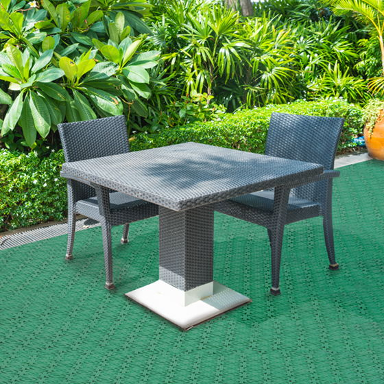 Create a comfortable space for your terrace or garden by installing ITM Loseplast plastic tiles
