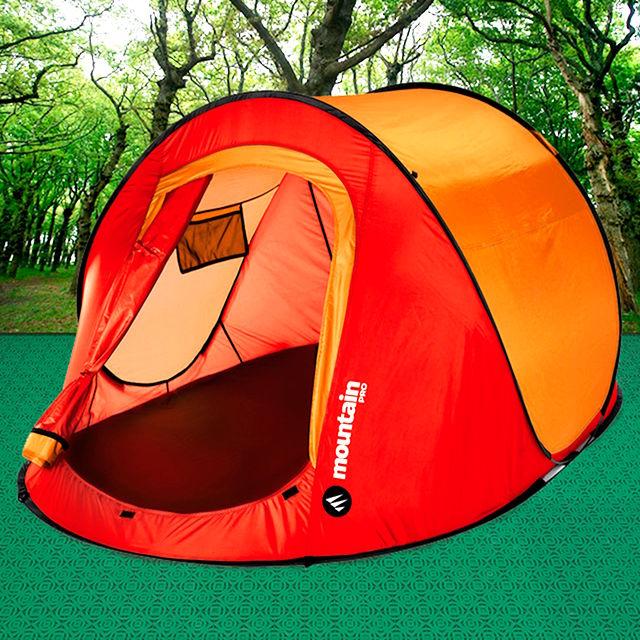 Consigue allanar el suelo para instalar tu tienda de campaña con las losetas de camping de Loseplast